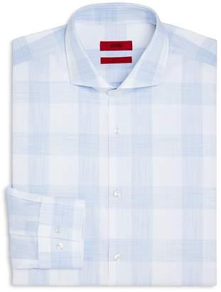HUGO Macro Check Slim Fit Dress Shirt