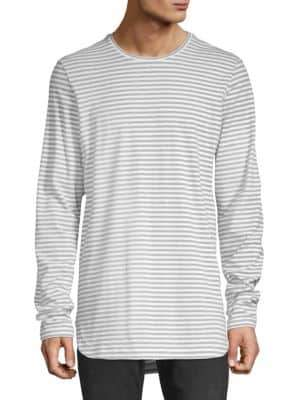 Diesel Black Gold Long-Sleeve Stripe Tee