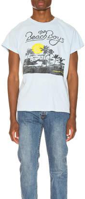 MadeWorn The Beach Boys Tour of America Crew Tee in Blue Haze | FWRD