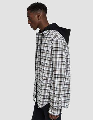 Off-White Off White Check Hoodie Shirt