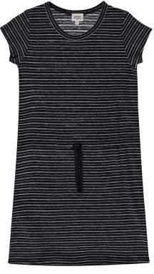 Hartford Sale - Teeny Lurex Striped Linen Dress