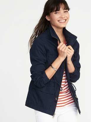 Old Navy Twill Field Jacket for Women