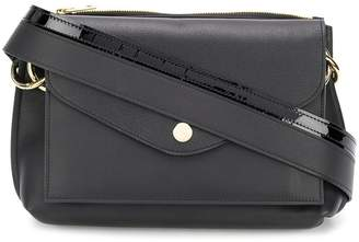 Sacai multi-compartment cross body bag