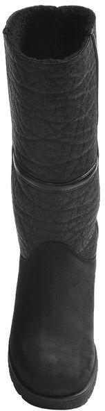 La Canadienne Atlanta Boots - Leather-Nubuck, Faux-Shearling Lining (For Women)