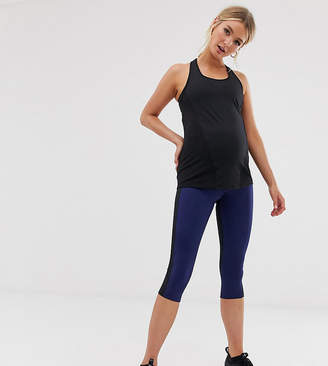 Asos 4505 4505 Maternity colour block legging