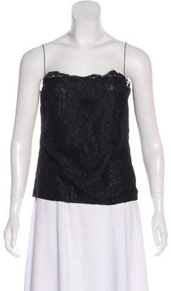 Burberry Sleeveless Lace Top