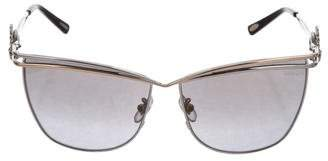 Chopard Jewel-Embellished Cat-Eye Sunglasses w/ Tags