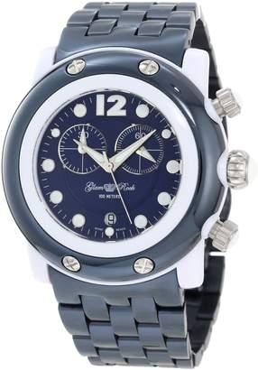 Glam Rock Women's GK1144 Miami Beach Chronograph Navy Dial Watch