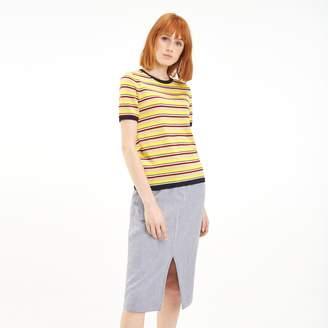 Tommy Hilfiger Short-Sleeve Stripe Sweater