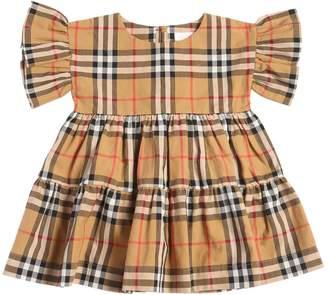 Burberry Check Cotton Dress & Diaper Cover