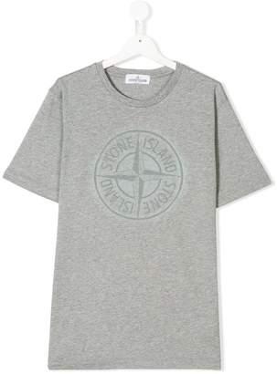 ... Stone Island Junior printed T-shirt 2f0a7b95afde