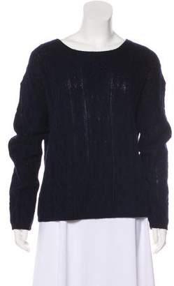 Nili Lotan Cashmere Cable Knit Sweater