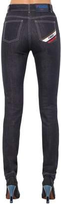 Fendi Mania High Waist Denim Jeans