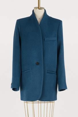 Isabel Marant Wool and cashmere Felis jacket