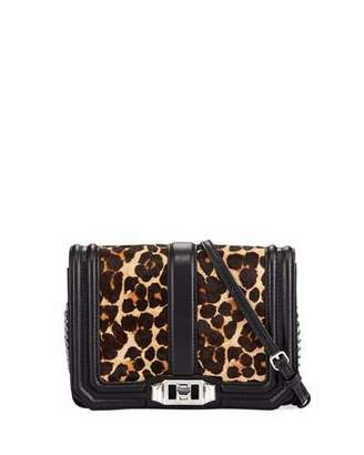 Rebecca Minkoff Love Small Leopard-Print Crossbody Bag