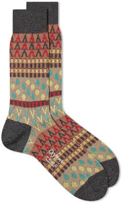 Ayame Socks Pouring Rain Sock