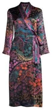Natori Nouveau Silk Duster Robe