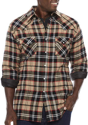 Ely Cattleman Flannel Shirt Jacket