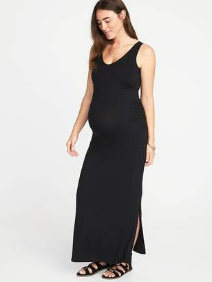 6bcf42f78c4 Old Navy Maternity Sleeveless V-Neck Maxi Dress