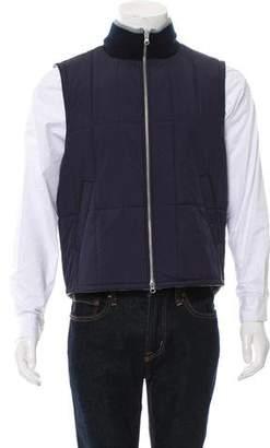 Kent & Curwen Cashmere Reversible Vest