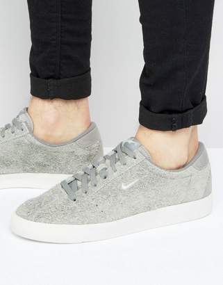 Nike Match Classic Suede Sneakers In Grey 844611-003
