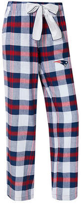 Concepts Sport Women's New England Patriots Headway Flannel Pajama Pants