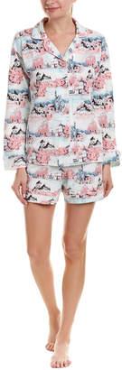 BedHead 2Pc Pajama Short Set
