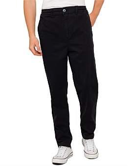 Armani Exchange Textured Trouser With Zip Pocket Detail
