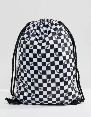 Vans Checkerboard Drawstring Bag