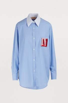 N°21 N 21 Oversized shirt