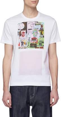 Comme des Garcons x Jean-Michel Basquiat graphic square print T-shirt