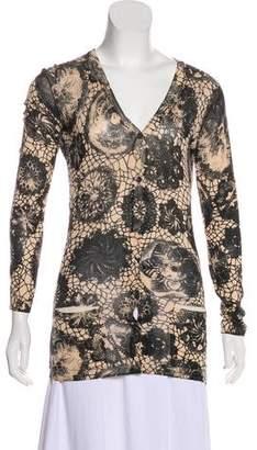 Jean Paul Gaultier Silk Knit Cardigan