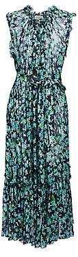 Zimmermann Women's Moncur Frill Midi Dress