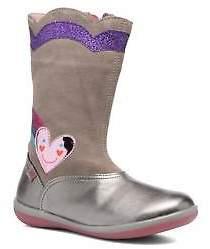 Agatha Ruiz De La Prada Kids's Butterfly 2 Boots In Silver - Size Uk 12.5 Kids /