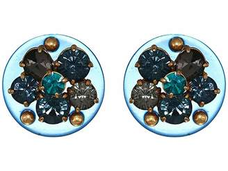 J.Crew Dazzled Lucite Stud Earrings