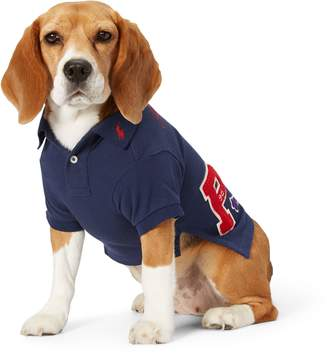 Ralph Lauren Pique Patch Dog Polo Shirt