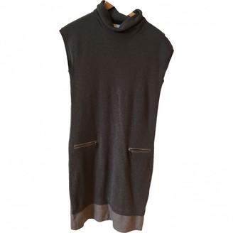 Fabiana Filippi Brown Wool Dresses