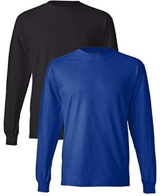 Hanes Men's Long-Sleeve Beefy-T Shirt (Pack of 2)