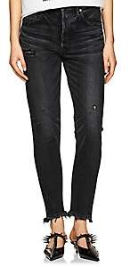 Moussy VINTAGE Women's Kelley High-Rise Tapered Jeans - Black