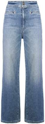 Mother wide leg jeans