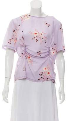 Nina Ricci Sheer Silk Blouse w/ Tags