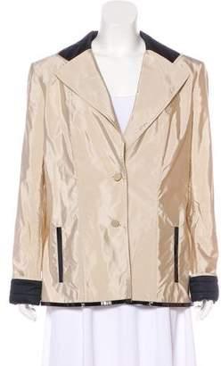 Chanel Satin Quilted Blazer