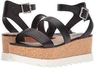 Steve Madden Kirsten Cork Platform Wedge Sandal Women's Shoes