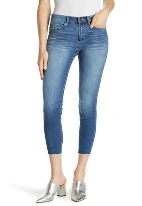Sneak Peek Denim Mid Rise Skinny Ankle Jeans