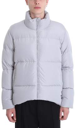 Bacon Clothing Grey Polyester Down Jacket