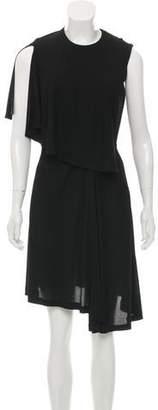 Balenciaga Sleeveless Draped Dress