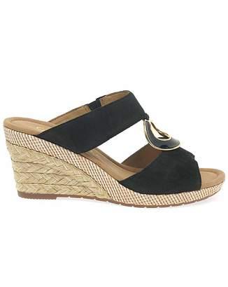 Gabor Sizzle II Womens Wedge Sandals