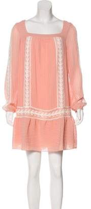 ALICE by Temperley Pleated Shift Dress