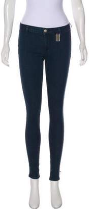 Thomas Wylde Mid-Rise Skinny Jeans blue Mid-Rise Skinny Jeans