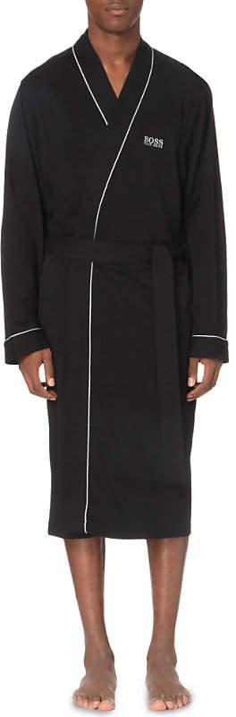 Kimono cotton bathrobe